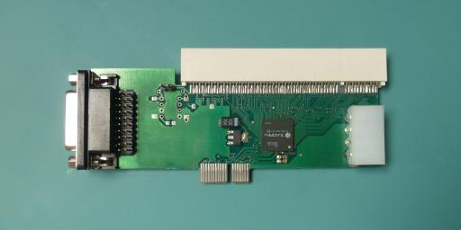bridge PCIe-PCI66